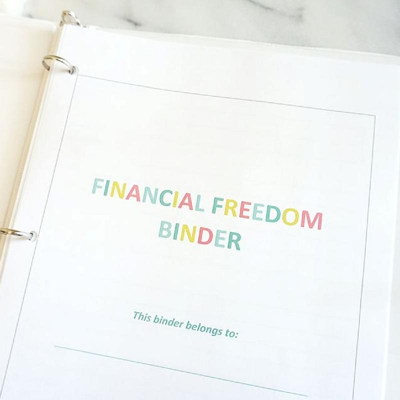2017 budget binder