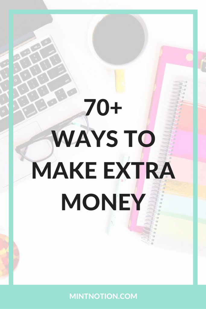70 ways to make extra money